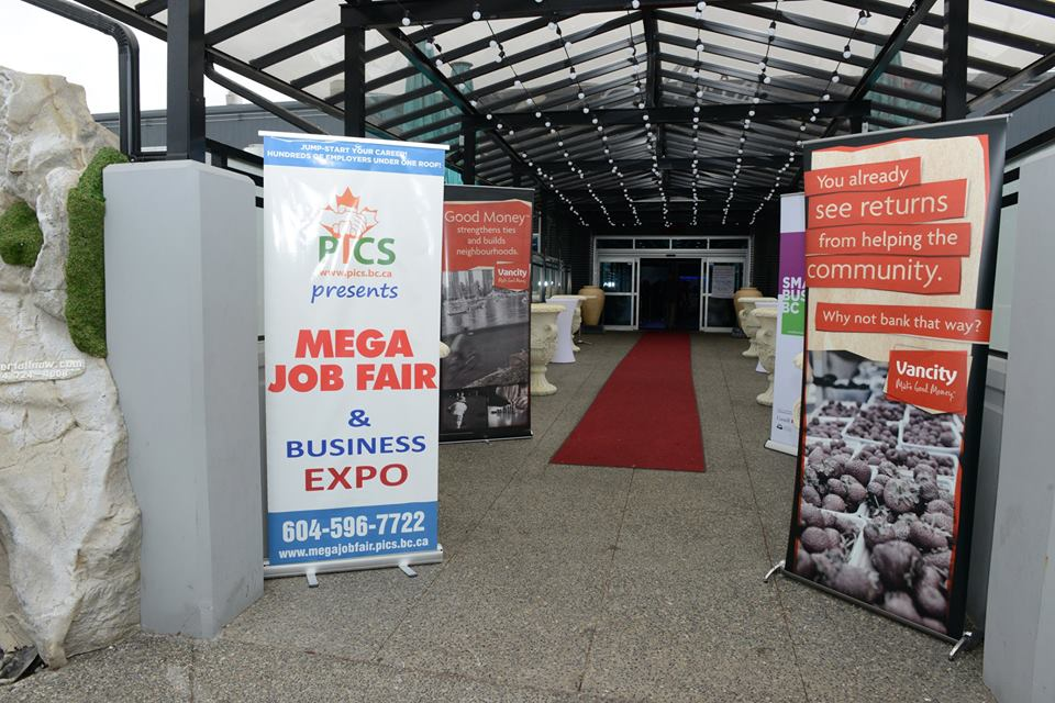 PICS 8th Annual Mega Job Fair and BC Small Business Expo a Smashing Success!